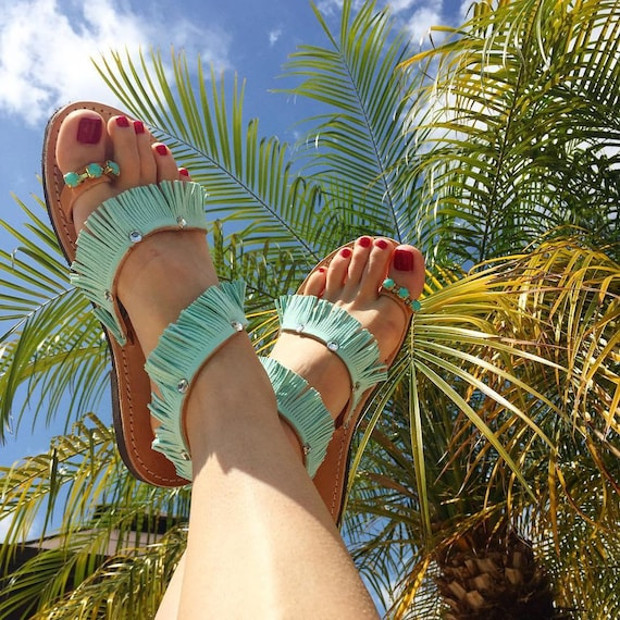 Greek sandals! Bridal sandals