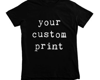 Custom Kids Shirts, Personalized Kids Tshirt, Custom Toddler Shirt, Custom T-shirts, Custom Portrait, Personalised Kids Tee, Children Top