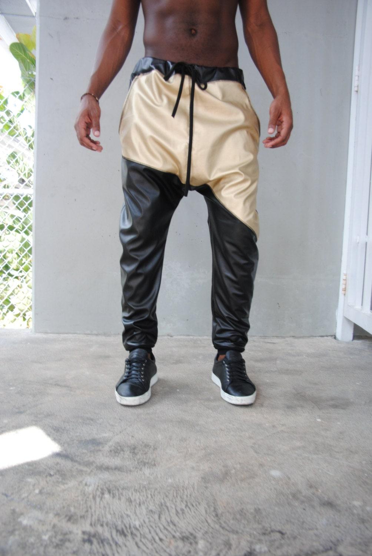 leather harem pants men - photo #43
