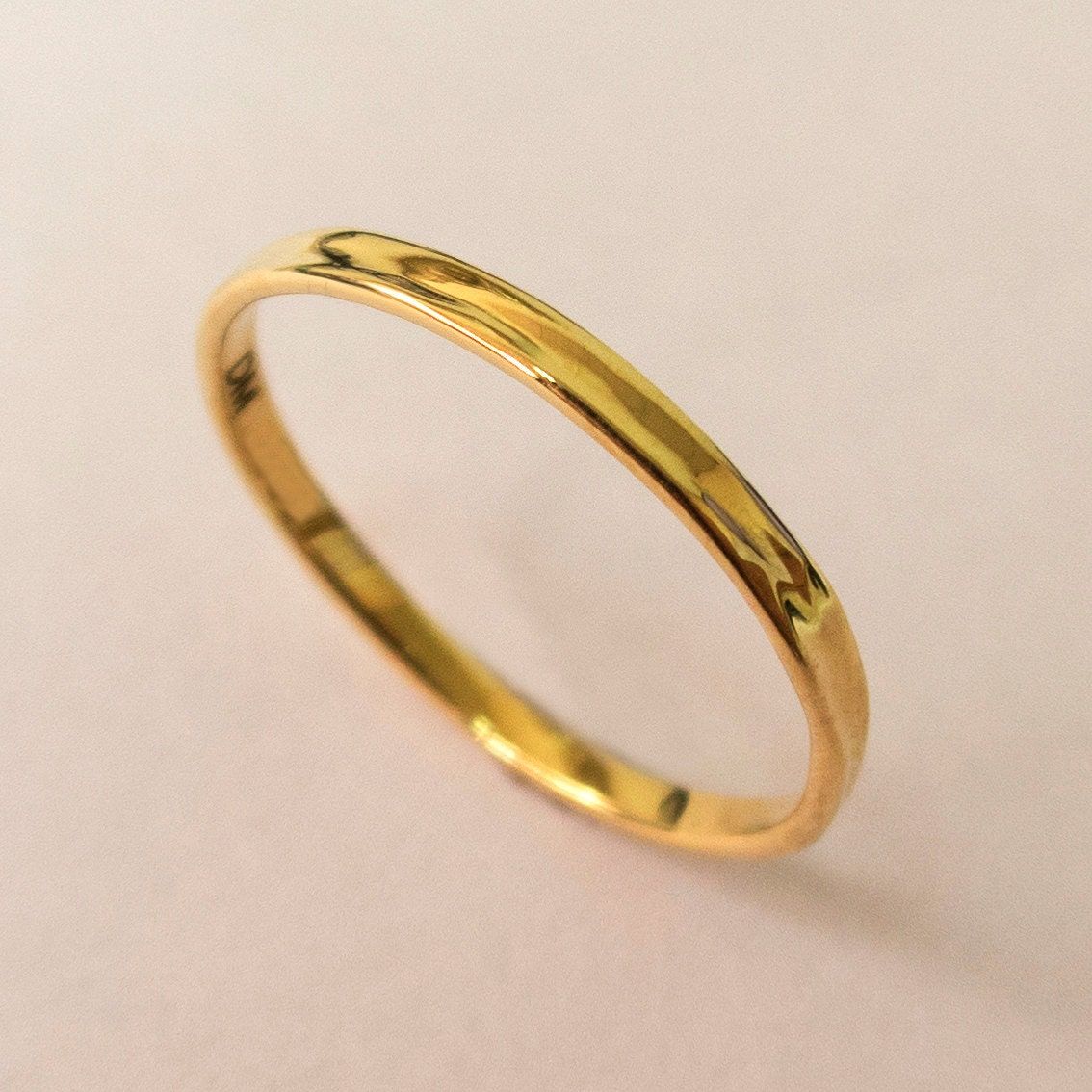 simple gold wedding band 14k yellow gold ring yellow gold