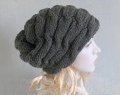 Women Hat Baggy Beanies cable knit JUMBO SLOUCHY Beanie Hat extra Large knit beanie Oversized Beanie Hat extra Large Slouchy dreadlock hat