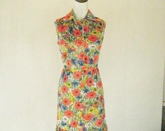 Westbury Fashion Poppies Floral Summer Day Dress
