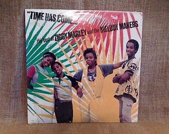 The Best of Ziggy Marley and the Melody Makers - 1988 Vintage Vinyl Record Album