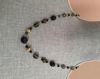 Repurposed Vintage Bead Necklace