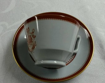 Copeland Spodes Tea Cup and Saucer; Slightly Deep Dish - Circa 1950   65