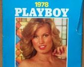 Mature* Playboy Wall Calendar 1978