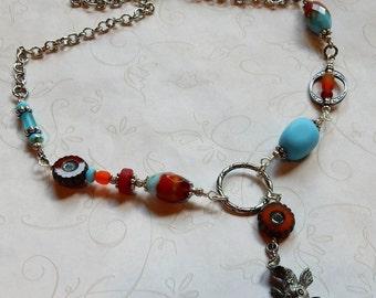 Koi Necklace, Koi Fish Necklace, Good Luck Koi Necklace, Koi Jewelry
