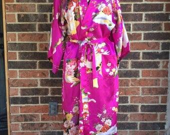 Beautiful Shanghai Soho Robe - Kimono Style...