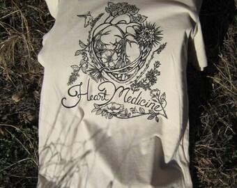 Heart Medicine T-shirt! Ladies cut