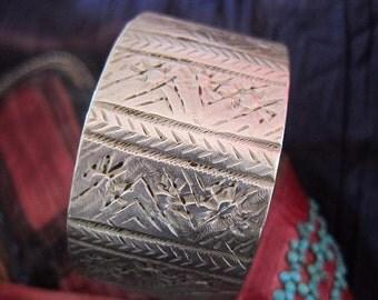 Tribal Berber Bracelet Handmade, Moroccan Sahara