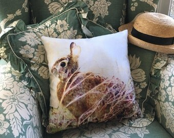 Indoor pillow cover, Bunny Time