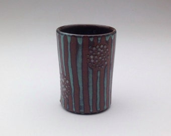 Ceramic Cup Pottery Juice Tumbler Small