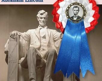 Lincoln Patriotic Cockade