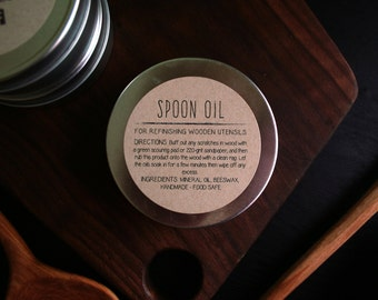 Spoon Oil Wood Finish