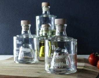 Stackable Oil Bottles, Olive Oil