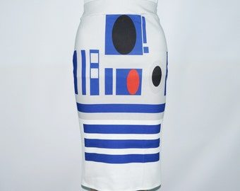 Everyone's Favorite Droid Knit skirt - made to order