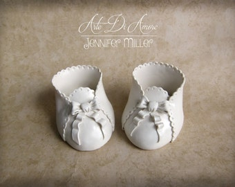 Baby Booties Cake Toppers
