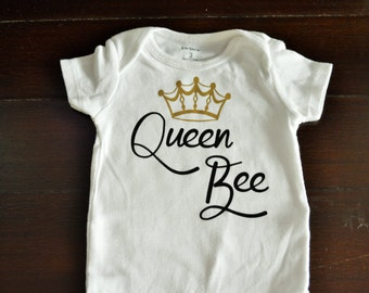 Queen Bee Onesie