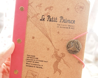 The Little Prince Notebook / Schedule  Le Petit Prince (hot pink)