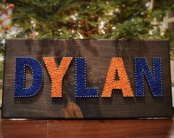 MADE TO ORDER: Custom String Art Personalized Sign - Nursery Decor