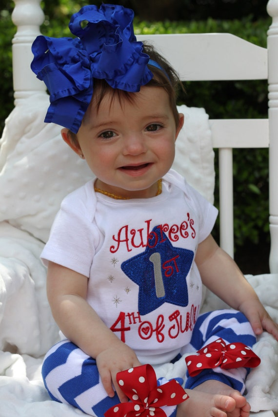 Baby girls my first fourth of July outfit set embroidered onesie leg warmer headband lot Find this Pin and more on Fourth of July Outfit by Naomi Hass. Shop for on Etsy, the place to express your creativity through the buying and selling of handmade and vintage goods. Baby Boy Fourth Of July Outfit 4th Of July Baby Clothes Boy EBay.