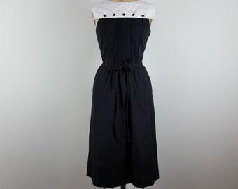 dressed for adventure | vintage 1970s panel front dress | vtg 70s play dress | sundress | medium/m