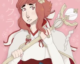 Sakura - Fire Emblem Fates Print