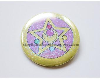 CHOOSE a DESIGN Sailor Moon Sparkly Button for Fairy Kei, Mahou Kei, Magical Girl Fashion