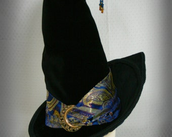 Women's Victorian Edwardian Witch Hat: Minerva