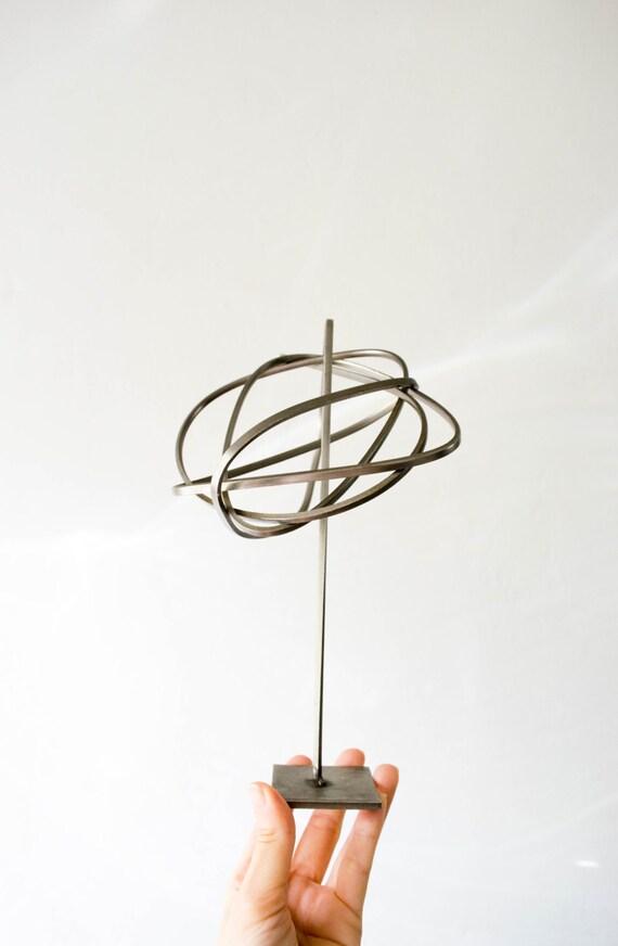 Mid Century Aluminum Abstract Art Sculpture