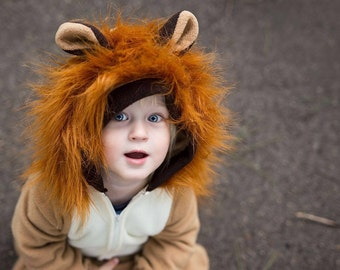Lion Costume/ Lion Halloween Costume/ Toddler Lion Costume/ Children's Lion Costume/ Baby Lion Costume/ Lion suit for baby