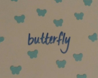Hand-Punched Butterfly Confetti 1000 Pieces