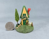 Handcrafted Miniature Fairy House  OOAK by O'Dare
