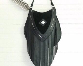 Venus Fringe Crossbody Bag