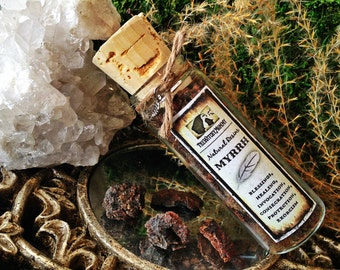 MYRRH Incense Resin - Witches Cabinet, Herbal Apothecary, Meditation, Ritual