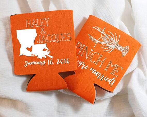 Me To You Wedding Gifts: Pinch Me Wedding Favors Crawfish Boil Wedding Favors NOLA