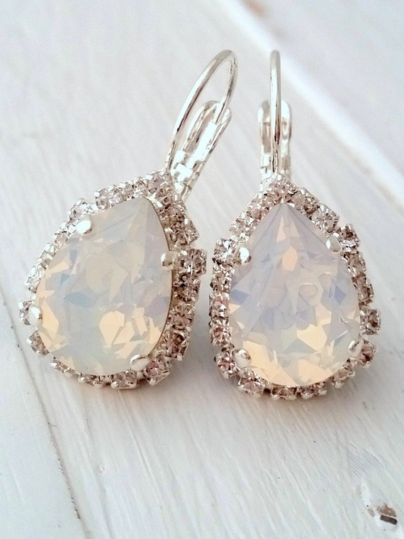 Swarovski White Opal Shoes