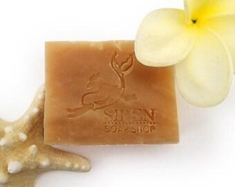 Big Island Plumeria Soap, Handmade Soap, Plumeria, Shea Butter Soap