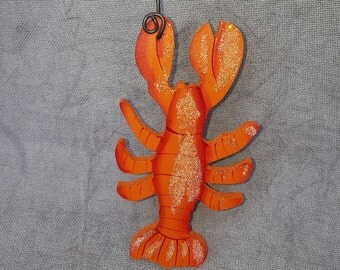 Lobster Ornament/Party Favor/Gift Tag -- OA53