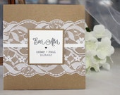 Rustic Wedding Invitations, Custom Classic Wedding Invitations, Lace Wedding Invitations, Vintage Wedding Invitations, Rustic Wedding
