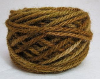 AVOCADO, 100% Wool, 4 Ozs. 85 yards, 4-Ply, Bulky weight, already wound into cakes, ready to use.