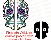 PRE SALE: Shelter Sugar Skull BFF Pin