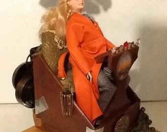 Steampunk Barbie IV Time Machine