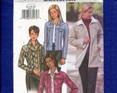 Butterick 3595 Denim Style or Ranch Hand Jackets Size 12..14..16 UNCUT