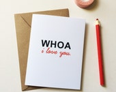 Mom Valentines Card - Dad Valentines Card - Love Cards - I love you Card - Long Distance Love Card - XOXO card