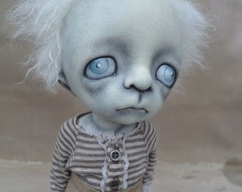 Art Doll. BJD. 12in. Gothic. Limited Edition.