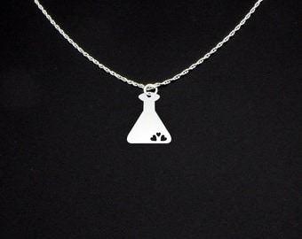 Love Potion Necklace - Sterling Silver