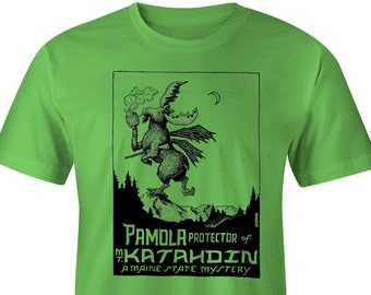 Pamola : Maine Mystery Cryptid Shirt Horror-Moose!