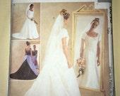 CLEARANCE Uncut Modest Wedding Dress & Bridesmaid Pattern McCall's #3046 - Sizes 12-14-16