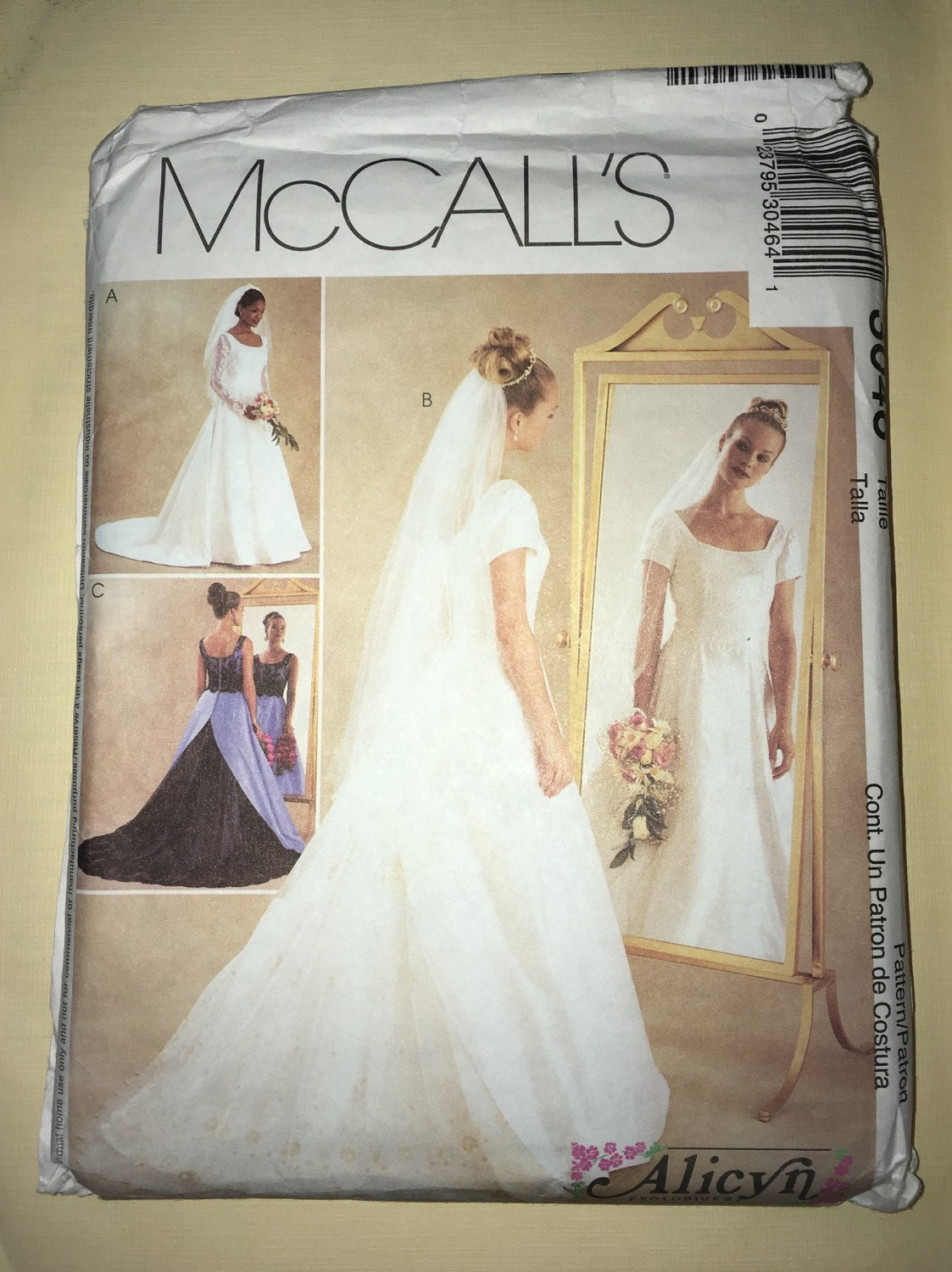 CLEARANCE Uncut Modest Wedding Dress Amp Bridesmaid Pattern